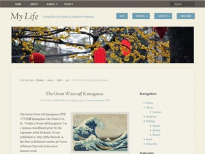 My Life WordPress blog theme