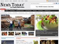 News Today newspaper WordPress theme