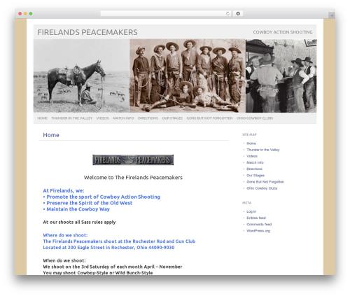 picolight template WordPress - firelandspeacemakers.com