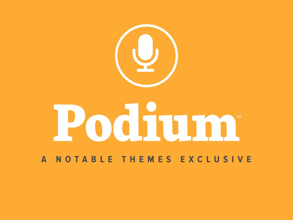 Podium WordPress template for business