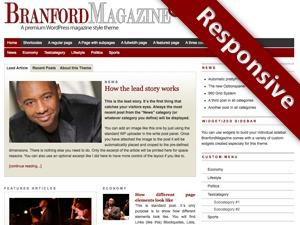 PRiNZ BranfordMagazine PRO best WordPress magazine theme