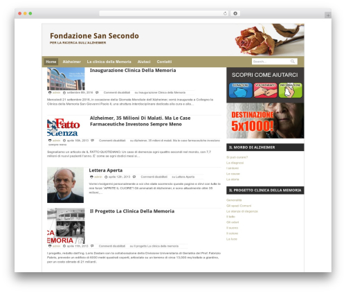 Quik Wordpress Theme theme WordPress - fondazionesansecondo.org