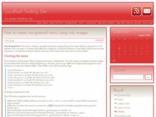Red Shadow WordPress theme