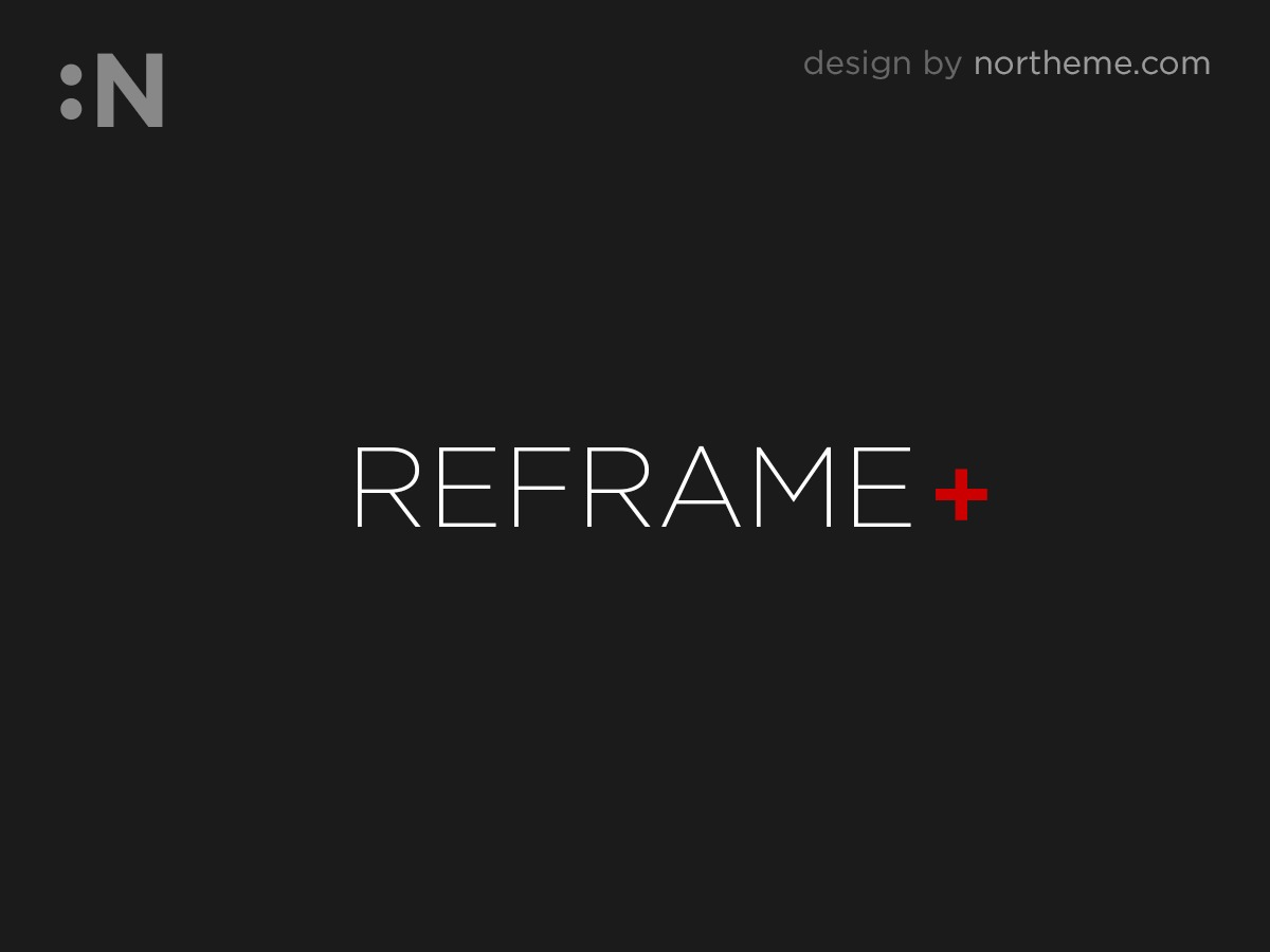 Reframe Plus best portfolio WordPress theme