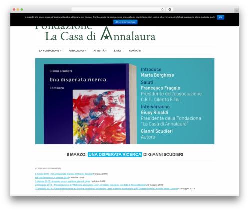 Rockwell 1.7.1 WP theme - fondazionelacasadiannalaura.org