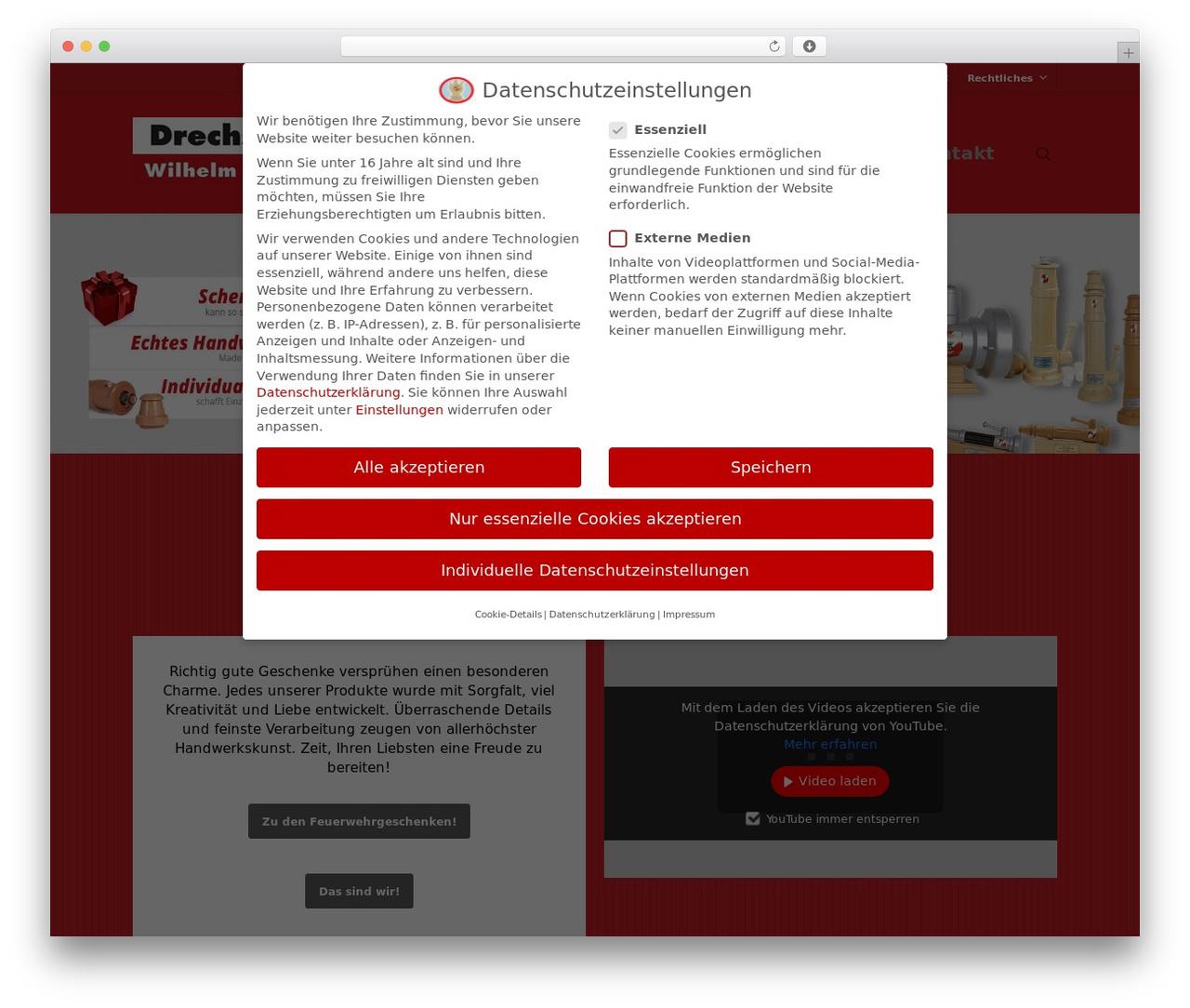 Salient Wordpress Theme By Themenectar Feuerwehr Geschenke At