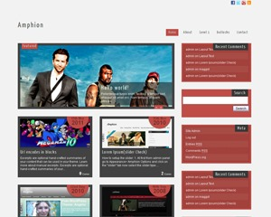 Scylla lite WordPress theme
