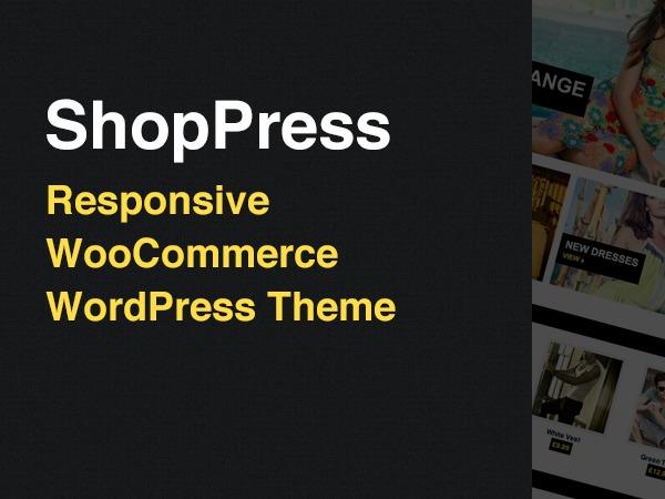 ShopPress best WooCommerce theme