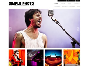 Simple Photo Responsive WordPress blog theme