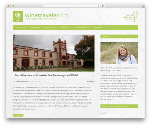 SmartMag WordPress travel theme - winetraveler.org