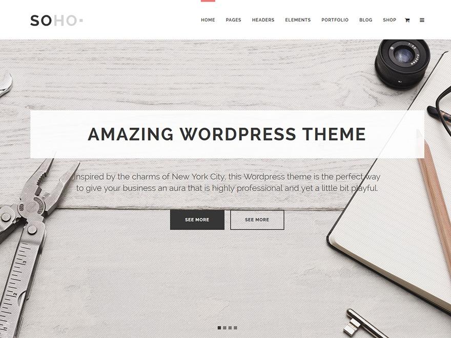 Soho Child theme WordPress