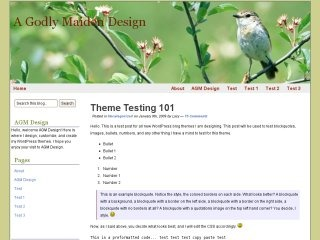 Spring Blossom WordPress theme