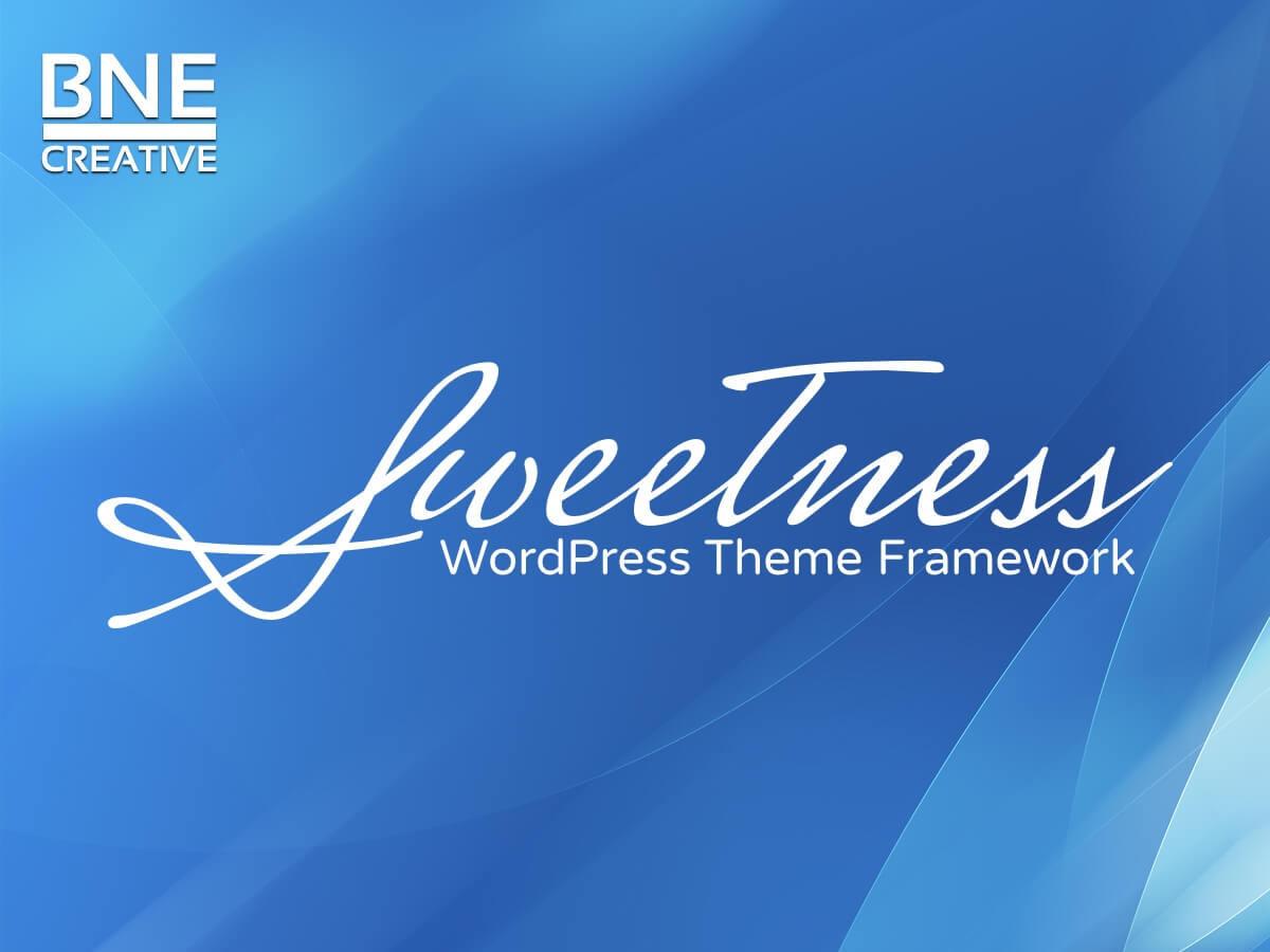 Sweetness best WordPress theme