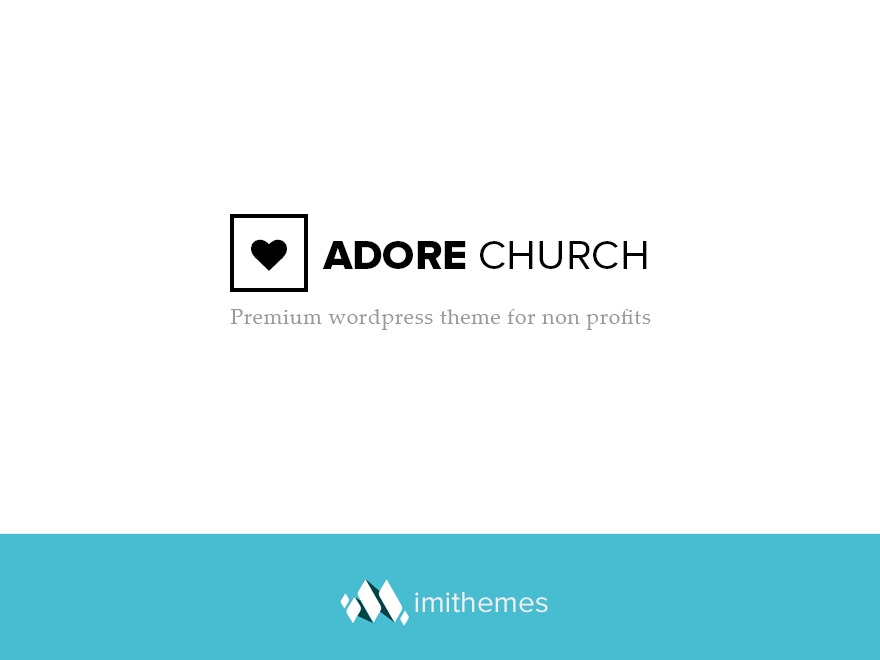 Template WordPress AdoreChurch