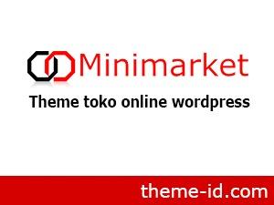Template WordPress Minimarket