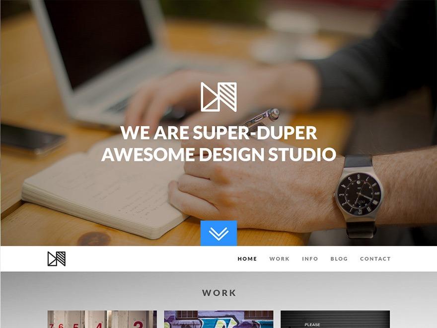 Template WordPress Nonus