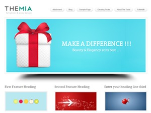 Themia Theme Pro business WordPress theme
