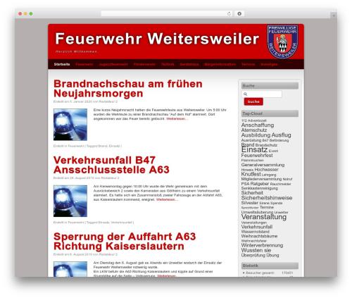 Third Style best WordPress template - feuerwehrweitersweiler.de