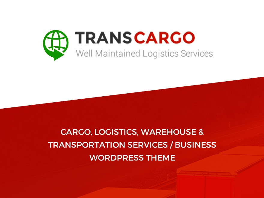 Transcargo business WordPress theme