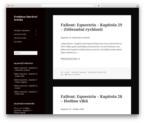 Twenty Fifteen theme WordPress free - frolda.cz