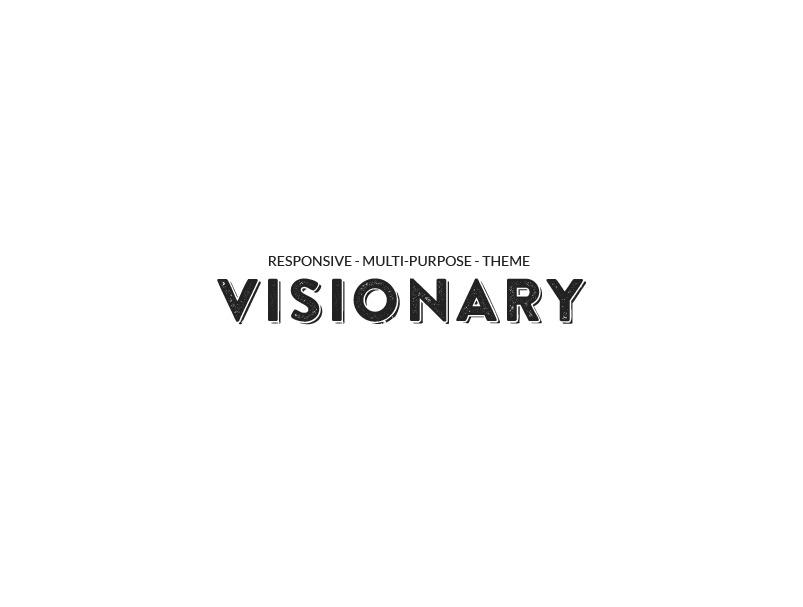 Visionary WordPress theme design