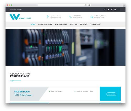 wavai best WordPress template - wavai.net