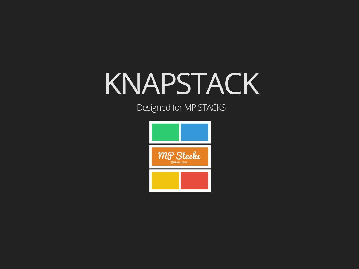 WordPress template KnapStack Theme