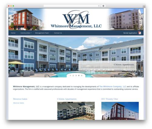 WordPress template Tempera - whitmoremanagementllc.com