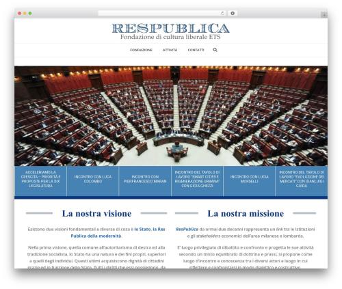 WordPress theme Jupiter - fondazionerespublica.org