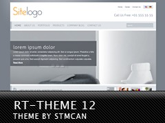 WordPress theme RT-Theme 12