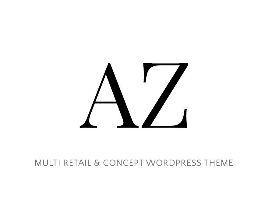 WordPress website template AZ