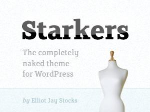 WordPress website template Starkers