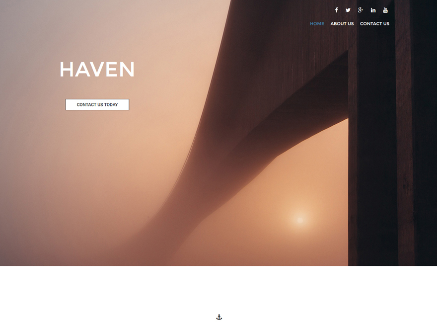 WP theme Haven