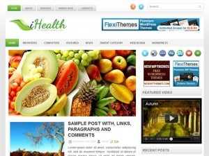 WP theme iHealth