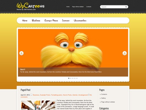 WpCartoons WP theme