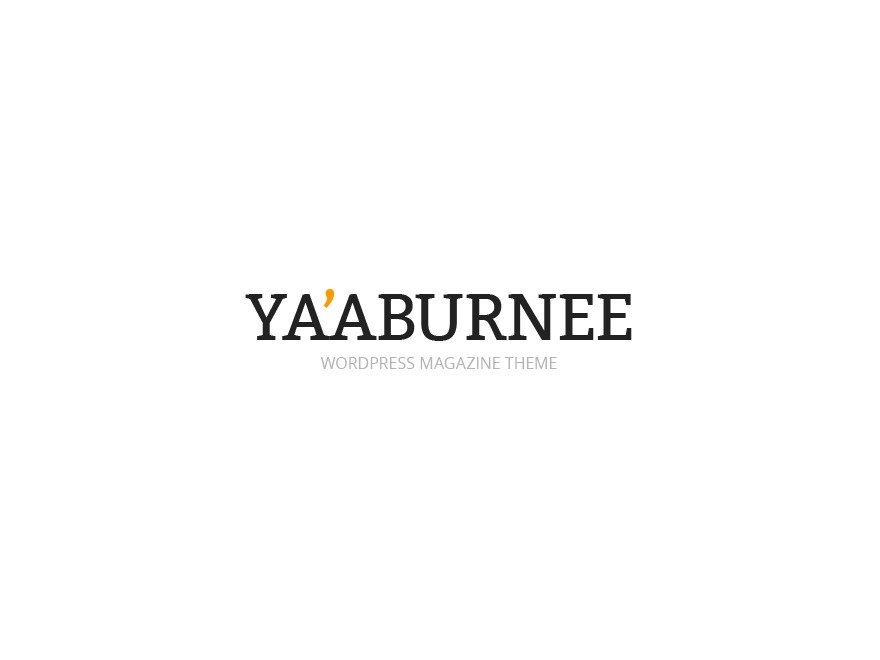 Yaaburnee Premium Theme WordPress template