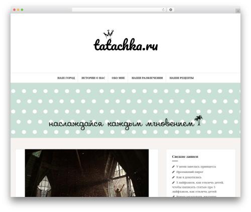 Amadeus theme WordPress - tatachka.ru
