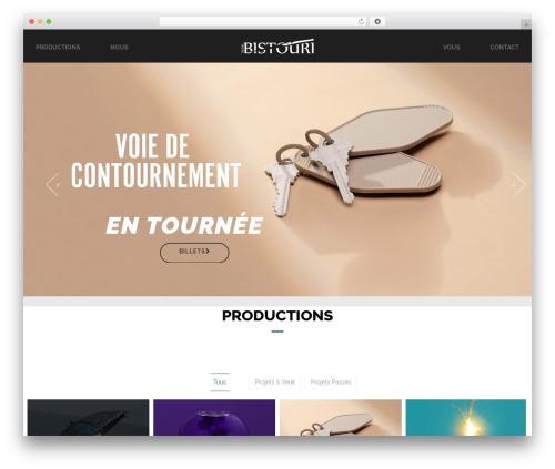 Andy WordPress theme - theatrebistouri.com
