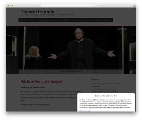 Baltimore top WordPress theme - theaterfreunde-wlb.de