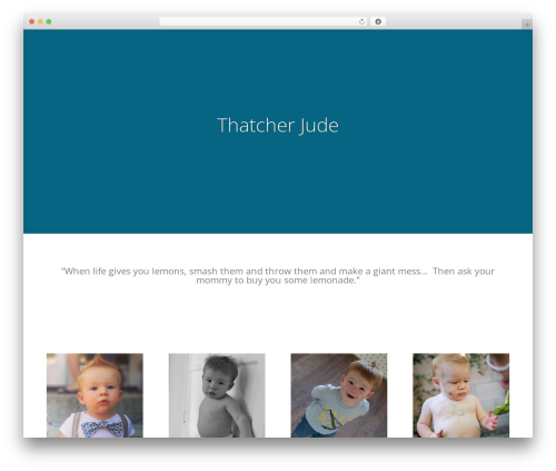 Best WordPress theme Divi - thatcherjude.com