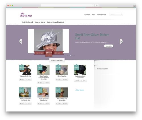 Boutique WordPress theme download - thechurchhat.com