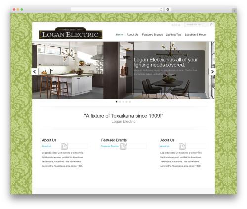 Chameleon template WordPress - texarkanaloganelectric.com