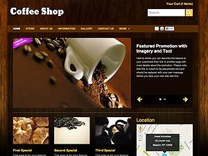 Coffee Shop best WooCommerce theme