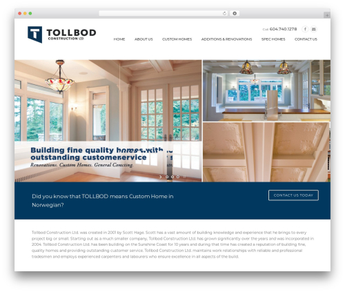 Construction WP template - tollbod.ca