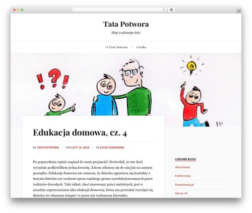Lovecraft free website theme - tatapotwora.pl