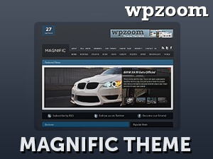 Magnific best WordPress theme