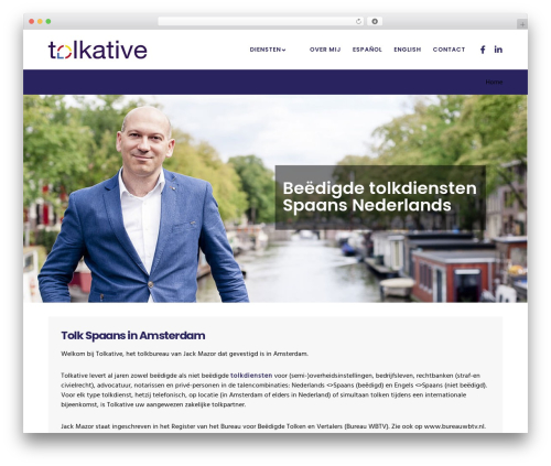 Movedo WordPress page template - tolkative.eu