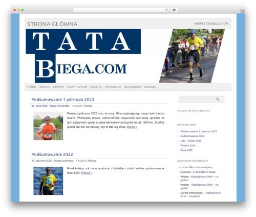picolight premium WordPress theme - tatabiega.com