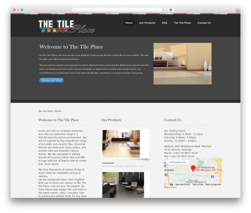 Swatch WP template - thetileplace.com.au
