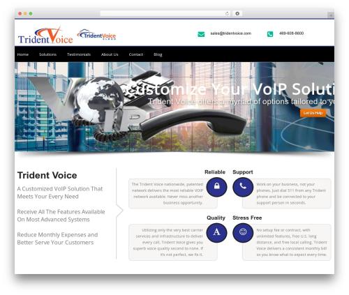 Theme WordPress Chester - tridentvoice.com